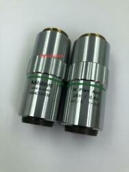For 1pc Only Mitutoyo M Plan Apo 20x /0.42 Microscope Objective Yh-a Ship F8