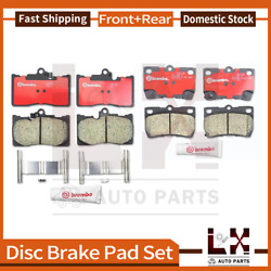 Front And Rear Brembo Ceramic Brake Pads Set Set For 2006-2013 Lexus Is350