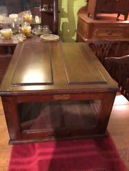 Antique General Store Computing Cheese Cutter Co. Anderson, Indiana Cheese Case