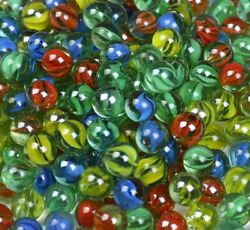 500 Glass Marble Sling Shot Ammo Cats Eyes Game Marble Bulk Piece Shooters