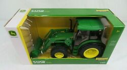 Ertl John Deere 5125r Tractor With Front End Loader 1/16 Scale Diecast