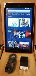 Kindle Fire Hd8 7th Generation 16gb Red