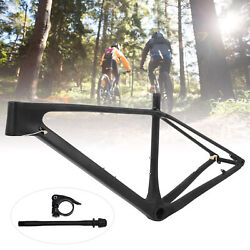 Mountain Bicycle Carbon Fiber Bike Front Fork Bracket Seatpost Clamp Pipe Shaft