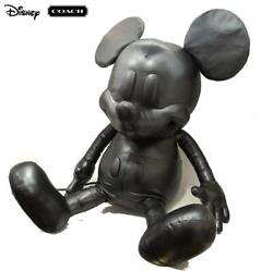 Coach X Disney Mickey Mouse Collectible Doll L 75th Anniversary Limited Leather