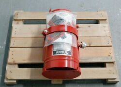 Ansul Tank Lvs-5 Wet Chemical Agent Vehicle Fire Protection Container 435876