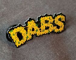 Seedless Clothing Limited Edition Dabs Hat Bag Lapel Pin 710 420 Wax Heady