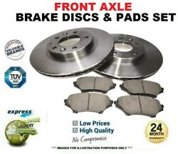 Front Axle Brake Discs + Pads Set For Vw Golf Iv 3.2 R32 4motion 2002-2005