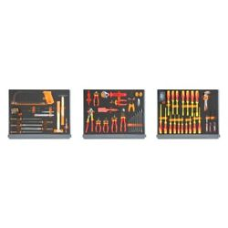 5935et/1mb-series 95-piece Home Maintenance Tool Set In Soft Foam Trays