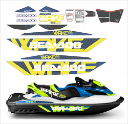 Seadoo Wake Pro 215 2016 Graphics / Decal Replacement Kit