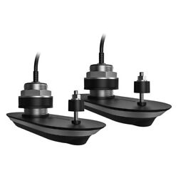 Realvision 3d Rv-412 Stainless Steel External Thru-hull Mount Transducers W 33