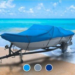 Vip All Weather 34 Boat Coverand0396 L X 120 W Blue Outdoor Custom Fit Fishing