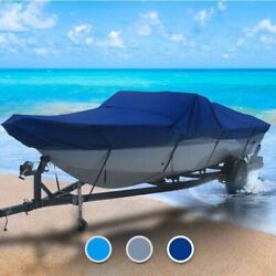 Reinell All Weather 24 Boat Coverand0396 L X 106 W Navy Blue Outdoor Trailerable