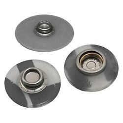 Fasteners 1 D Stainless Steel/pom Flexible Base Adhesive Socket Canvas