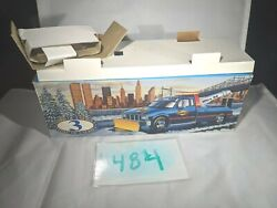 Collectible Toy Truck, Box Only, Sunoco Tow Truck With Snow Plow, 1996