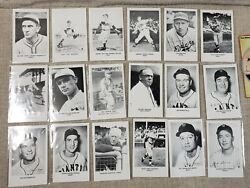 1970 Sports Cards For Collectors Lot Of 18 Postcards