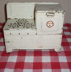 Vintage Empire Toy Electric Metal Stove/oven Cute