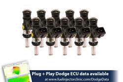 1200cc Fic Fuel Injector Clinic Injector Set For Dodge Viper Zb1 2003-2006