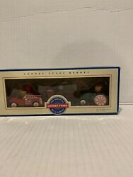 Looney Tunes Heroes Die Cast Metal Vehicles Fire Truck Airplane And Tractor 1993