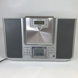 Audiovox Dms8770 Micro Cd Stereo System Mp3 Removable Cd Player Please Read - W6