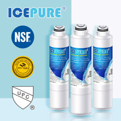 3 Pack Fit For Samsung Rs25j500dbc/aa Rs25j500dbc/aa Rs25j500dsg/aa Water Filter