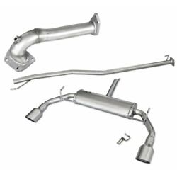 Exhaust Complete Approved 102mm Kit For Alfa Romeo Giulietta 1.4 Turbo 120cv