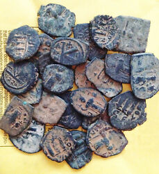Larger Desert Byzantine Roman Coins Price Per Coin Buying