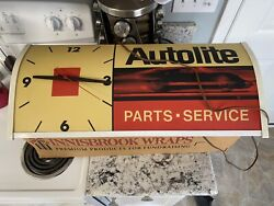 Nice Used 1960andrsquos 1970andrsquos Ford Autolite Parts And Service Clock