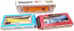 Lot Of 3 Vintage Trains Inbox Model Power Tyco Bachman
