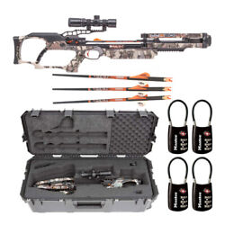 Ravin Crossbows R24 400 Fps Crossbow Package With Skb Iseries Case And Locks Kit