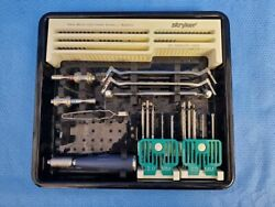 Stryker Asnis Micro 3.0mm And 2.0mm Cannulated Instrument Tray Surgical Orthopedic