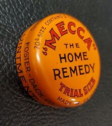 Vintage Mecca The Home Remedy Tin Medical Ointment
