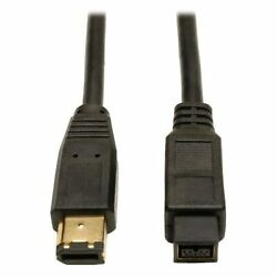 Tripp Lite Firewire 800 Ieee 1394b Hi-speed Cable 9pin/6pin 10-ft.f017-010andhellip
