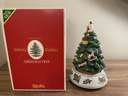 Spode Christmas Tree 2006 'the Story Of Spode Christmas Tree' New Working In Box