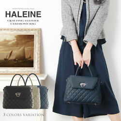 Haleine Brand Natural Shrink Leather Quilting Formal Bags Women #x27;S $443.75