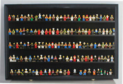 Wall Display Case Shadow Box Cabinet For Building Block Toy Minifigures Display
