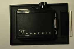 Graflex RH8 8 exp. 2 1 4 x 3 1 4quot; 6x9 roll film back for 4x5quot; camera with slide $75.00
