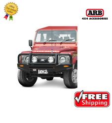 Arb 4x4 Accessories Front Deluxe Bull Bar For Land Rover Defender 83-15- 3432300
