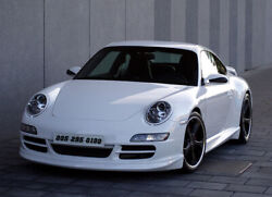 Porsche 997 Rear Tail / Spoiler With Rocker Panels And Front Spoiler Lip 2005-2112