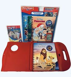 Disney Story Reader Learning System Limited 4 Book Collectors Edition 2007 New