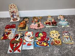 Vintage Valentineandrsquos Day Card Lot Of 11 1920s