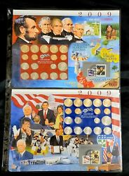 Postal Commemorative Society - 2009 - Complete Uncirculated Pandd Us Mint Sets