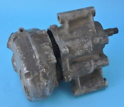 Burman Gb1c Competition Gearbox Case Inner And Outer Covers Ajs And Matchless 350