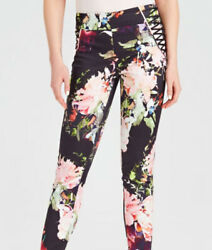 Guess By Marciano Women's High Waist Skinny Jeans Digital Print Size Xs