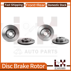 Front And Rear Brembo High Performance Coated Oe Brake Rotors Set For 2008 Bmw X6