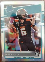 2020 Optic JAKE LUTON #194 Silver Prizm Holo Rated Rookie Jaguars RC $14.99