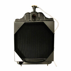New D89103 Replacement Radiator W Shroud Fits Case 580c Backhoe Loader