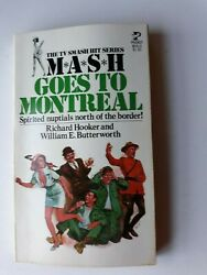Paperback Mash Goes To Montreal Richard Hooker William Butterfield 1977 Vg