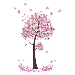 Romantic Flower Tree Decals DIY Art Mural Decor Removable Wall St