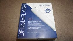 Dermaflash One Exfoliation And Peach Fuzz Removal Device In Silver Sparkle Le