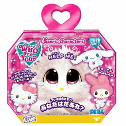 New Who Are You Sanrio 3type Look Forward To What Comes Out Sega Toys A1625